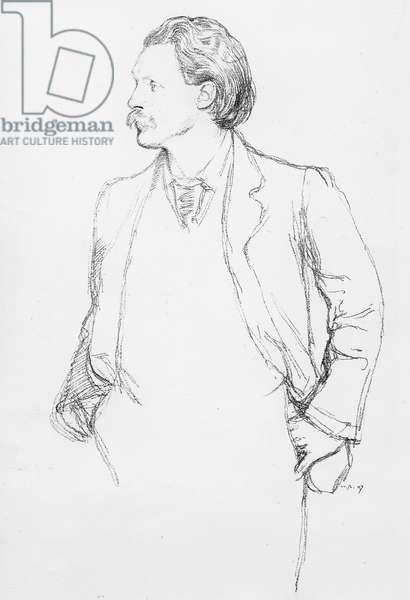 George Gissing, 1897 (litho)