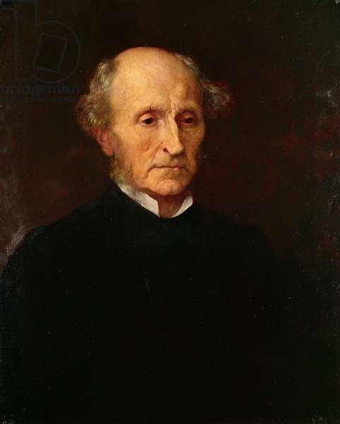 John Stuart Mill, 1873 (oil on canvas)