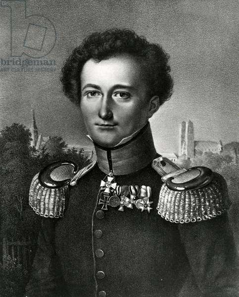 Carl von Clausewitz, print made by F. Michelis, 1830 (litho)