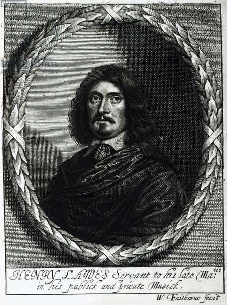 Henry Lawes (1596-1662) (engraving)