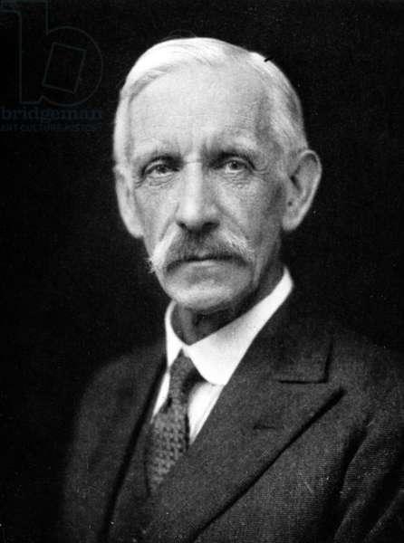 Frederick Gowland Hopkins (b/w photo)