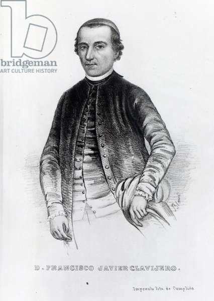Francisco Javier Clavijero (engraving)