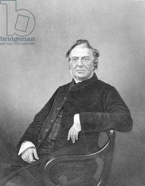Reverend Hugh Stowell, engraved by D. J. Pound (engraving)