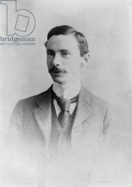 Bertrand Russell, c.1895 (b/w photo)