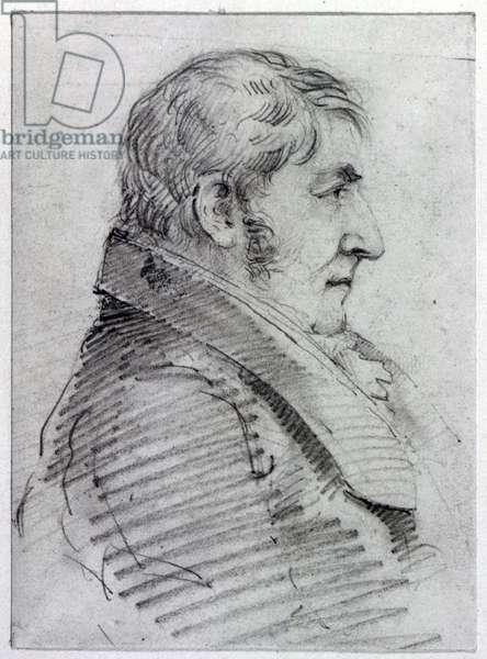 Joseph Mallord William Turner (pencil on paper)