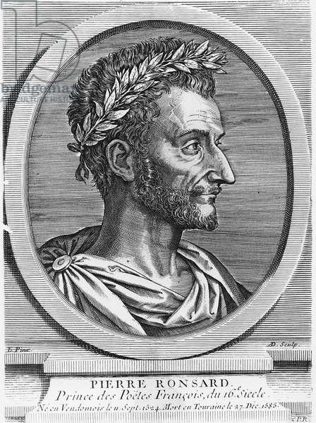 Pierre de Ronsard (engraving)
