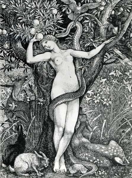 The Tempation of Eve (litho)