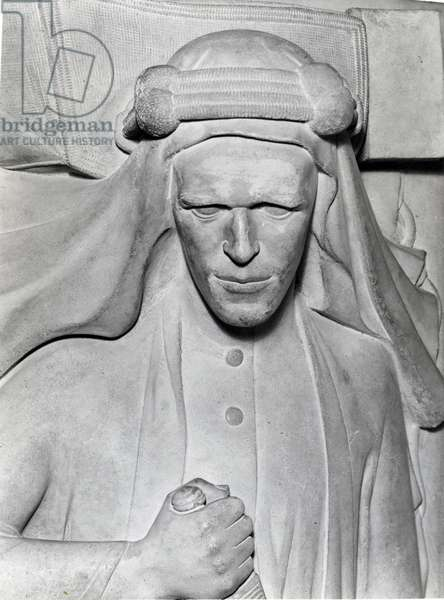 Effigy of T.E. Lawrence, 1935-39 (marble)
