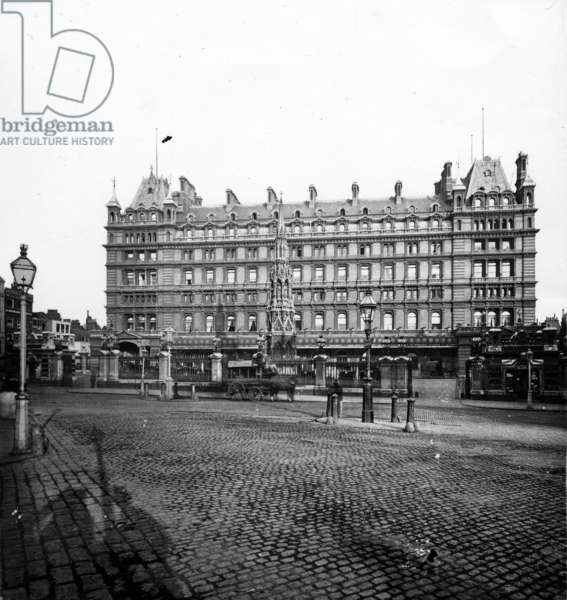 Charing Cross Station Hotel, c.1890 (photograph)