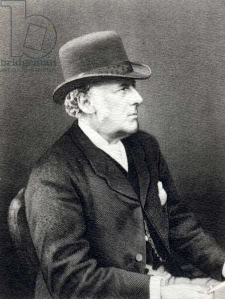 Sir John Everett Millais (engraving)