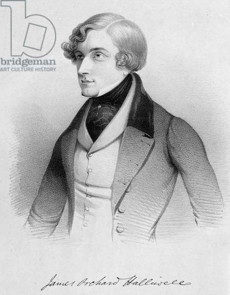 James Orchard Halliwell-Phillipps (engraving)