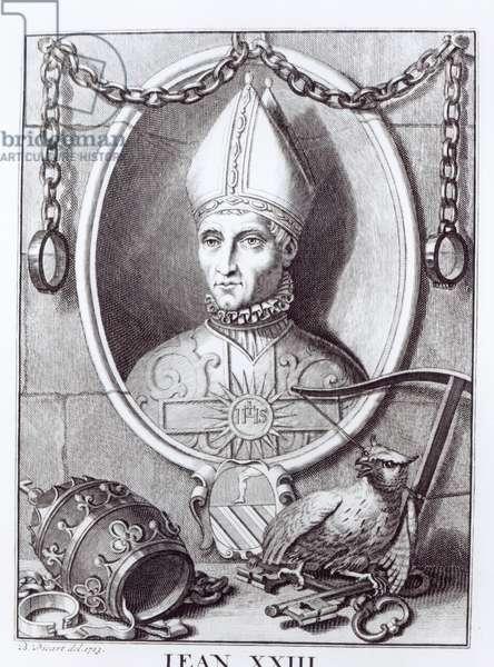 Antipope John XXIII, 1713 (engraving)
