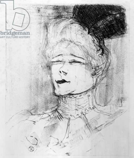 Jeanne Granier, 1898 (litho)
