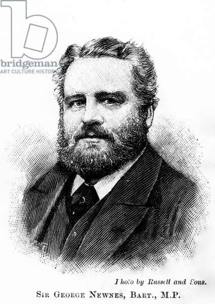 Sir George Newnes, Bart., M. P., 20th Century (engraving)