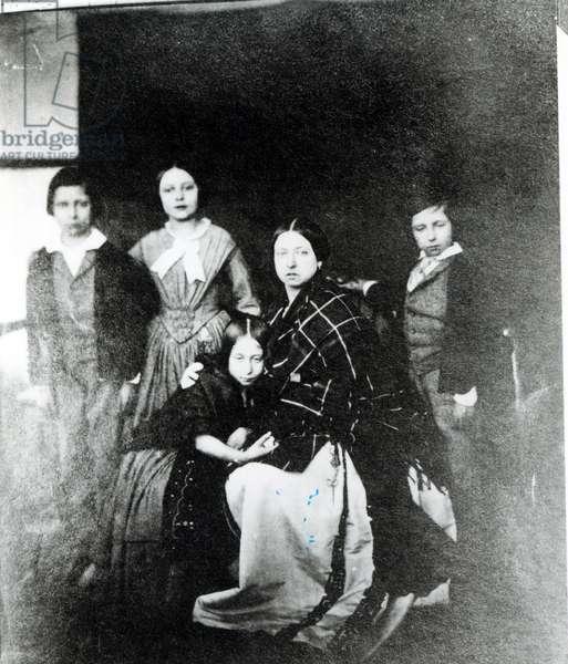 The Royal Family (b/w photo)