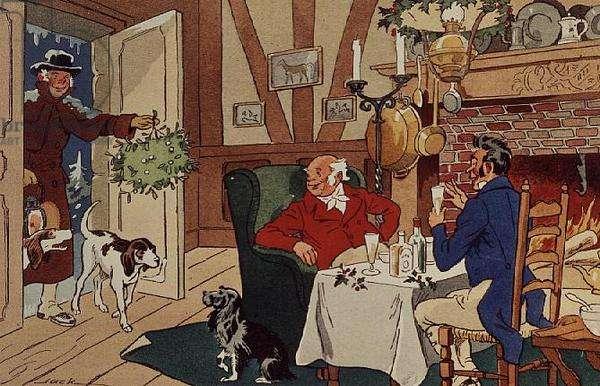 Christmas Visit (signed: Jack)