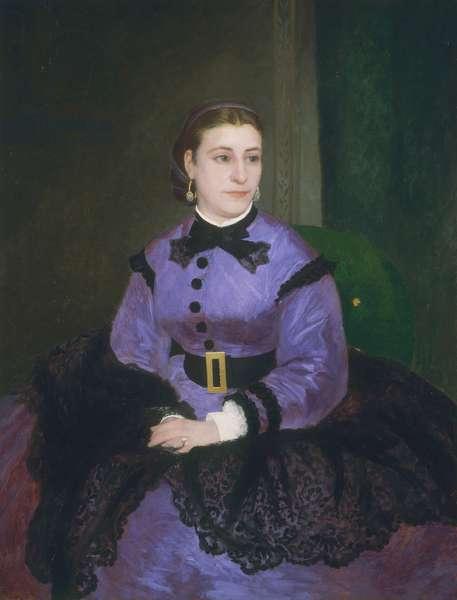 Portrait of Mademoiselle Sicot, 1865 (oil on canvas)