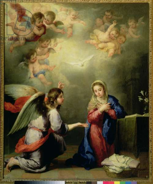 The Annunciation, 17th century