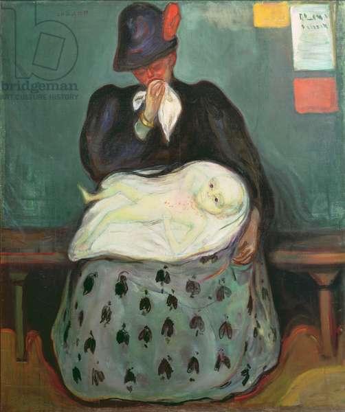 Inheritance, 1897-99 (oil on canvas)
