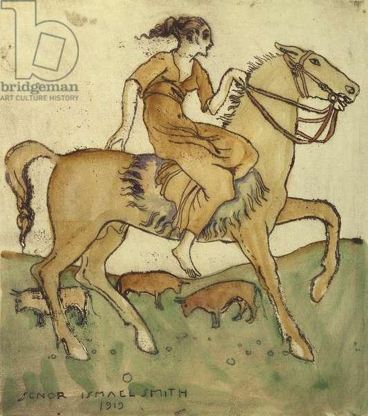 Dehesa, 1919 (w/c)