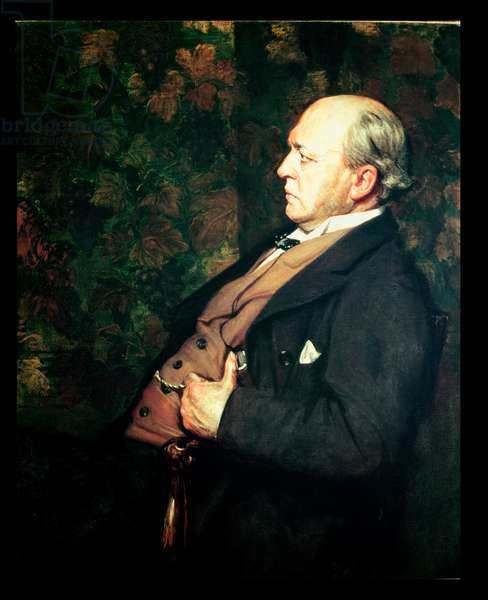 Portrait of Henry James (1843-1916) 1908 (oil on canvas)
