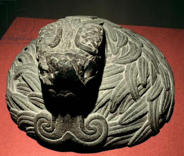 Plumed Serpent, 1300-1500 (stone)