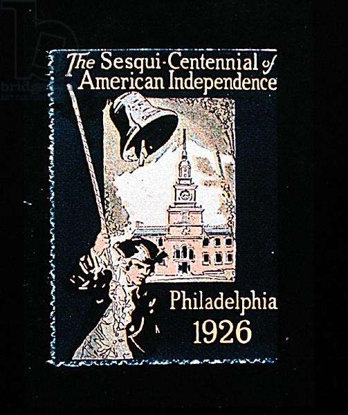 Stamp commemorating the Sesqui-Centennial of American Independence, Philadelphia, 1926