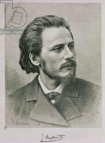 Jules Emile Massenet (1842-1912) (litho)