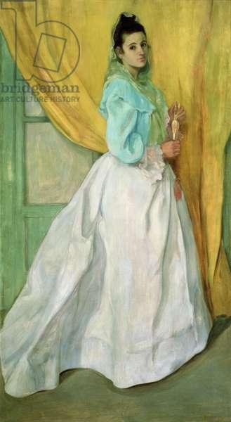 Lady of Alcala de Guadaira, 1896 (oil on canvas)
