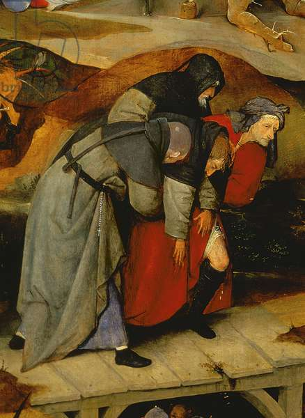 Detail from the Temptation of St. Anthony, c.1500 (oil on panel)