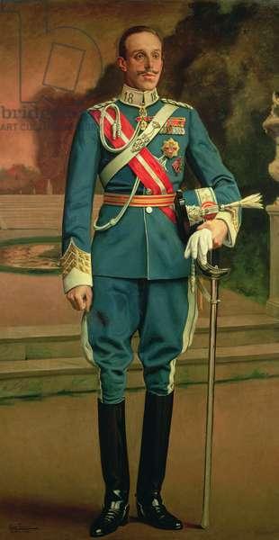 King Alfonso XIII, 1915