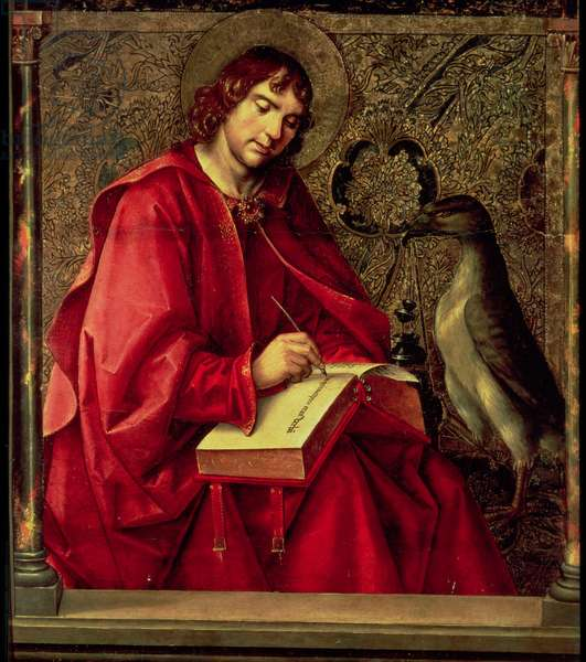 St. John the Evangelist, from the St. Thomas altarpiece