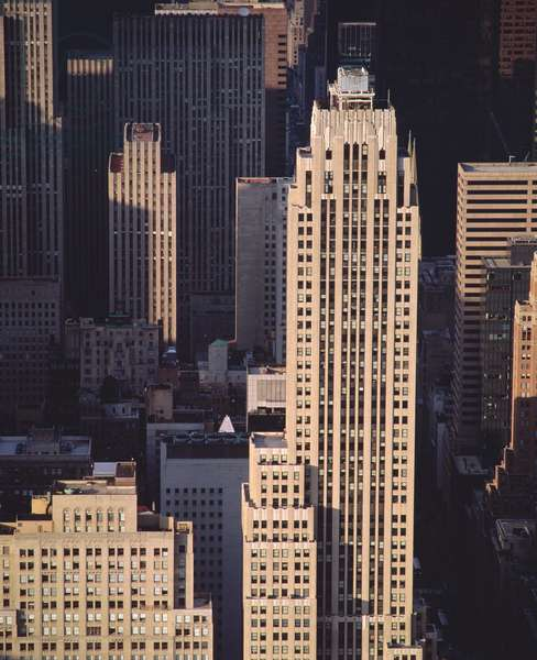 View of skyscrapers (photo)