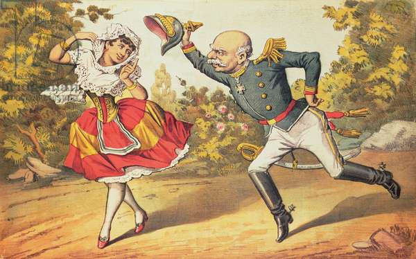 Spain rejecting Bismark's Advances, 1883
