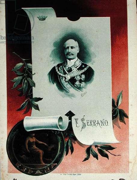 Francisco Serrano Gimenez (colour litho)