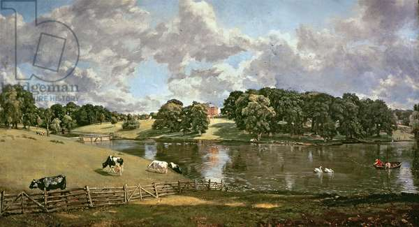 Wivenhoe Park, Essex, 1816 (oil on canvas)