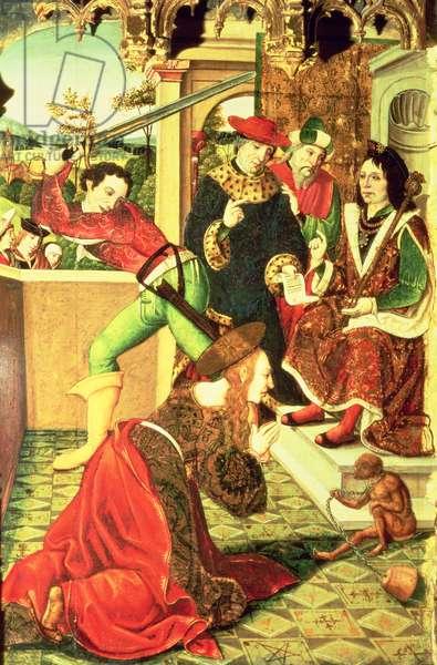 Martyrdom of St Eulalia of Merida