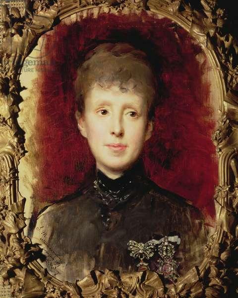 Marie Christine of Hapsburg, 1887