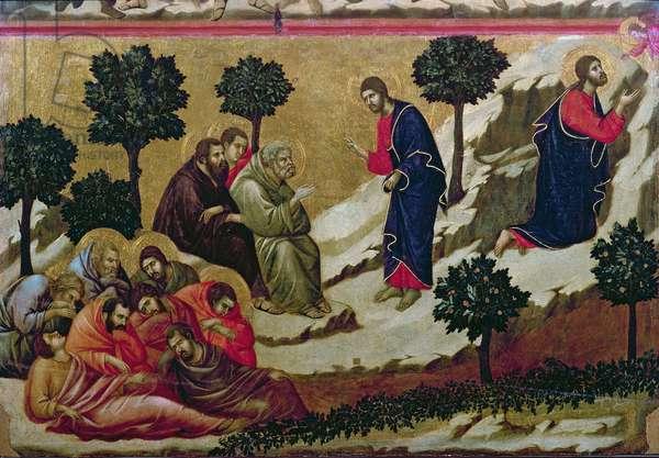 Maesta: Agony in the Garden of Gethsemane, 1308-11