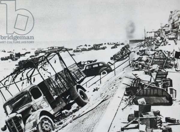 Operation Dynamo, Dunkirk, 27th May 1940 (b/w photo)