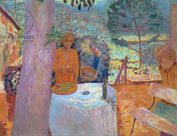 The Terrace at Vernonnet, 1939 (oil on canvas)