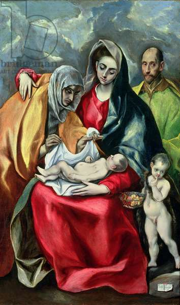The Holy Family with St.Elizabeth, 1580-85