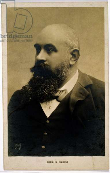 Giuseppe Giacosa (1847-1906) (photograph)
