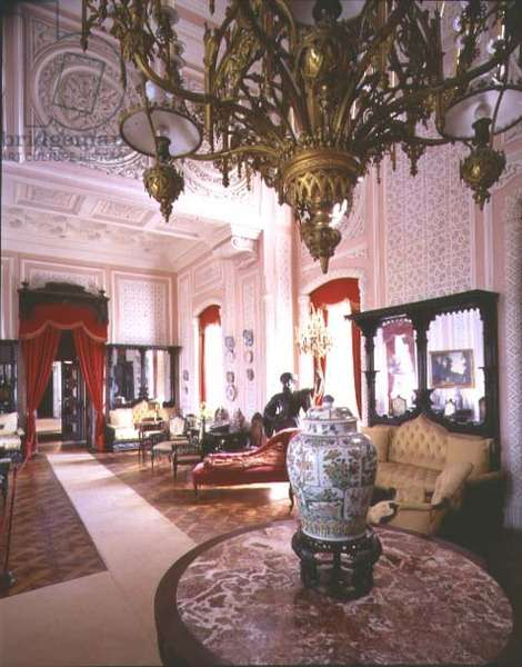 The Salon of the Nobles, 19th century (photo)