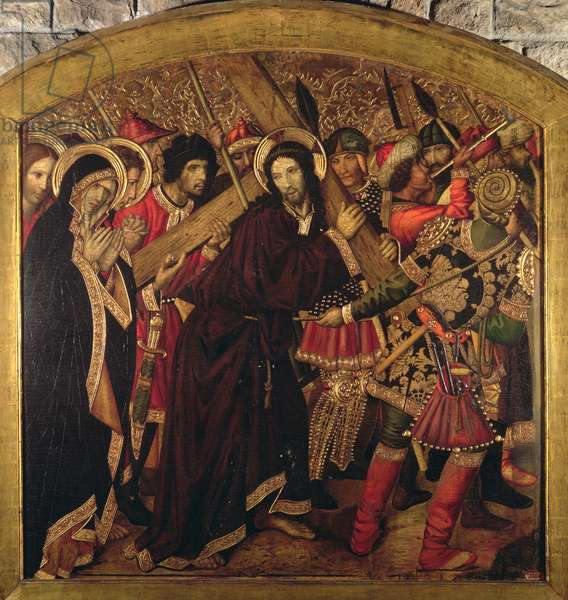 Road to Calvary, Blanquers Altarpiece