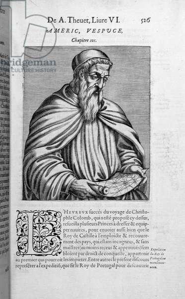 Portrait of Amerigo Vespucci (1454-1512)