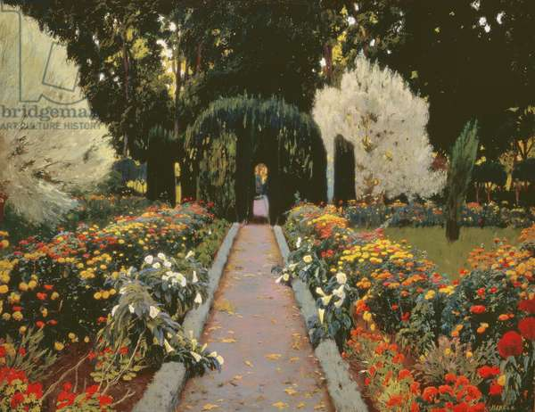 Glorieta II (The Garden at Aranjuez. Arbor II) 1907 (oil on canvas)