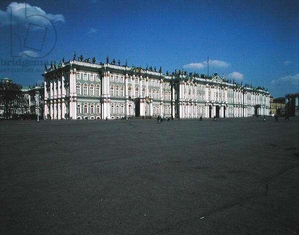 Facade of the Hermitage, 1753-62 (photo)