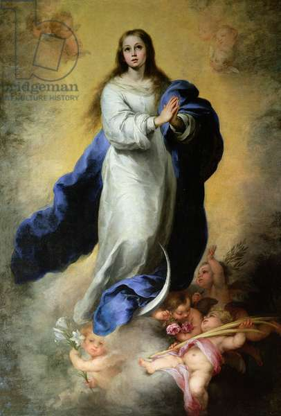 The Immaculate Conception, 1660-65 (oil on canvas)