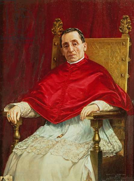 Portrait of Pope Benedict XV